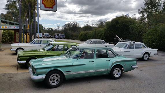 Member Cars at the West Coast Motor Museum