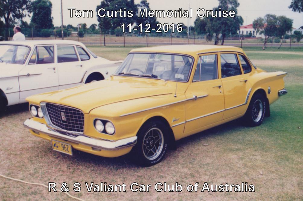 Tom Curtis Memorial Cruise Card