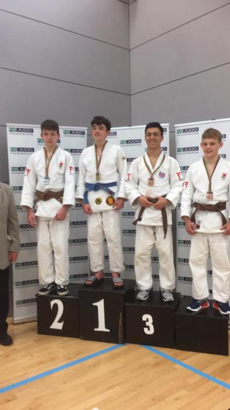 Northern Ireland Open 2017 James Silver, Karis Bronze
