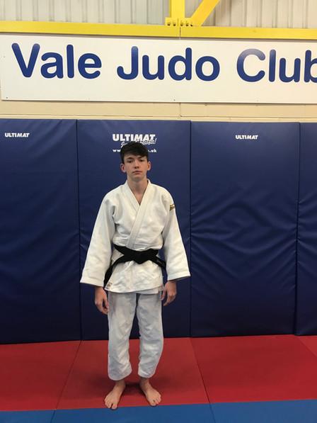 Vale has a new Black Belt Judoka - Congratulations James Reseigh