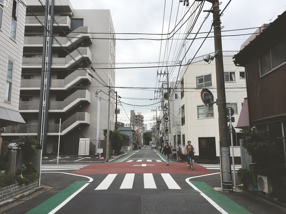 The Symmetry of Tokyo
