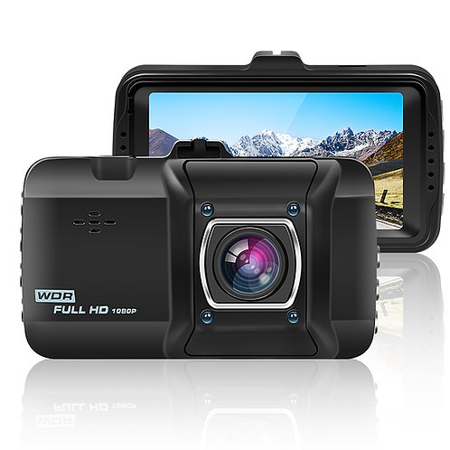 """ORSKEY 1080p Dash Cam 3.0"""" LCD with Full HD 170° Wide Angle Lens, Dashboard Came"""