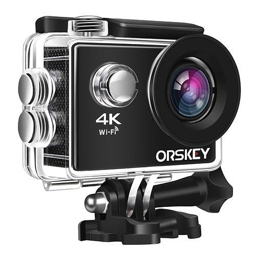 【Upgraded】ORSKEY Action Camera 4K 16MP WIFI Underwater Cam Sony Sensor Ultra HD