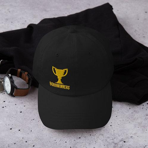 BORNWINNERS black championship trophy hat