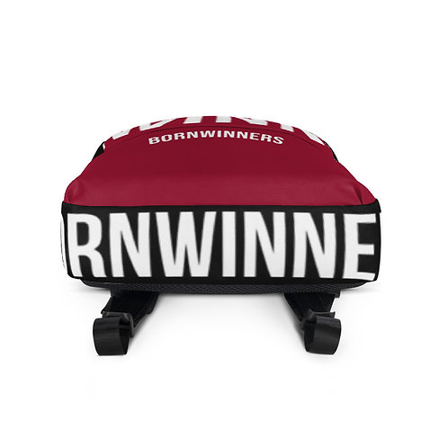 "RED/BLACK ""WINN"" BACKPACK"