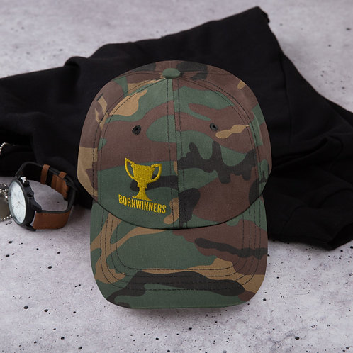 BORNWINNERS military camo hat
