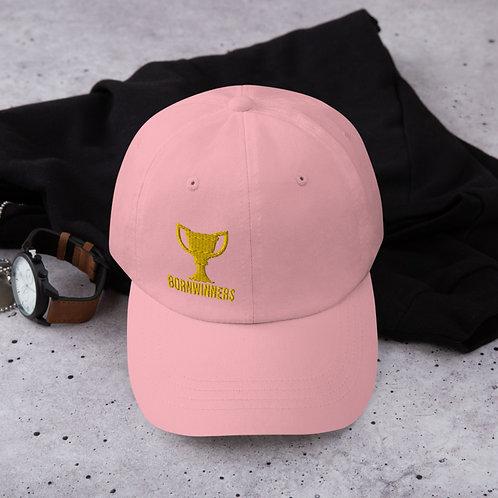 BORNWINNERS championship hat pink