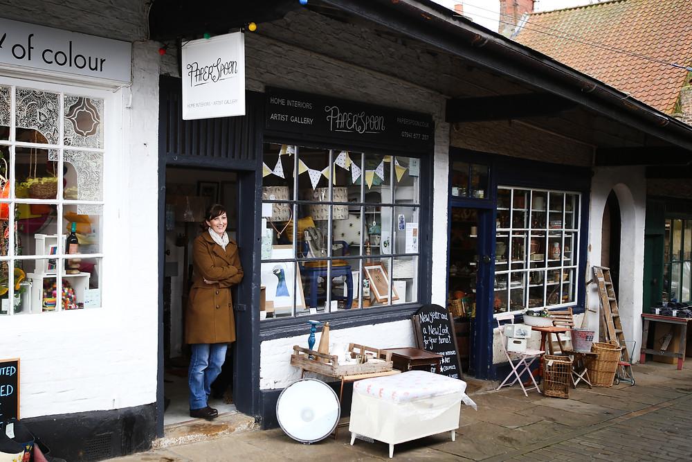 Christine's current shop