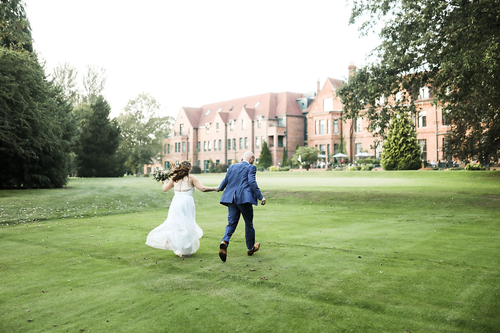 Couple at Aldwark Manor, York