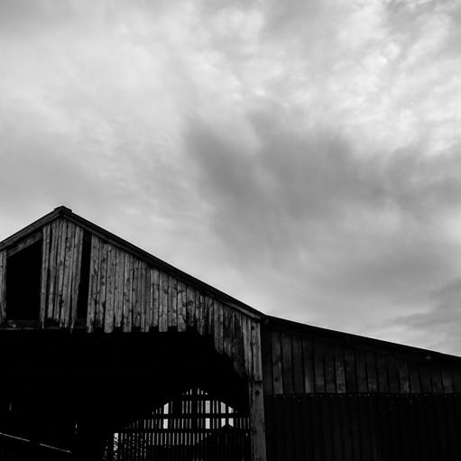 Moody skies