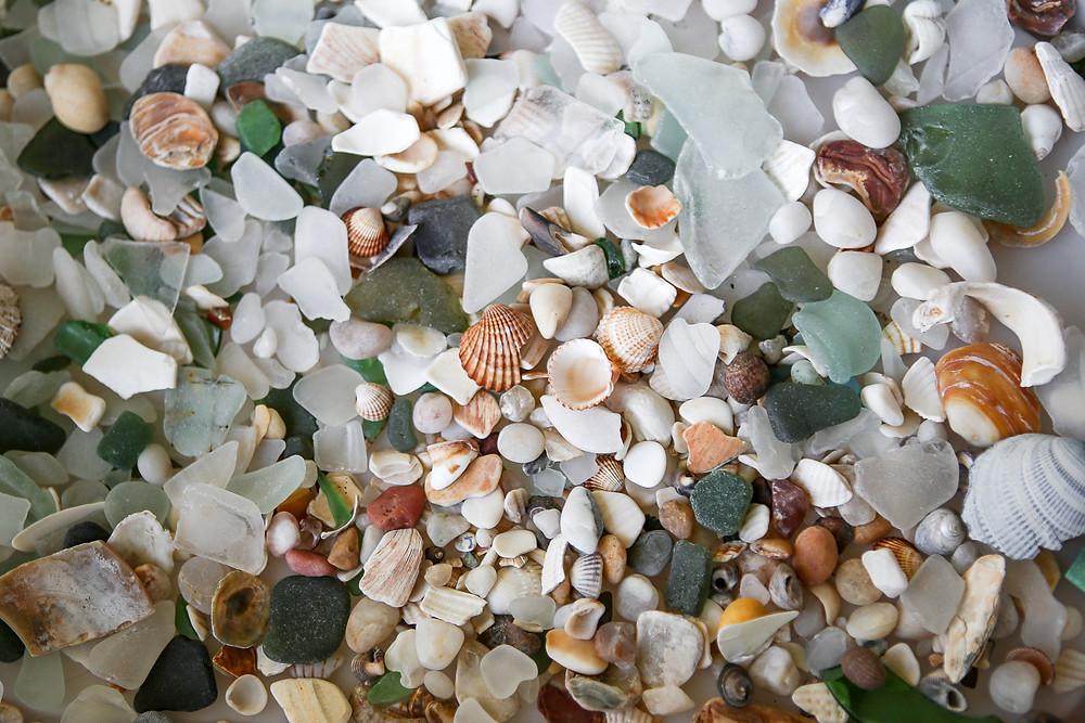 Sea Glass from our local shores.