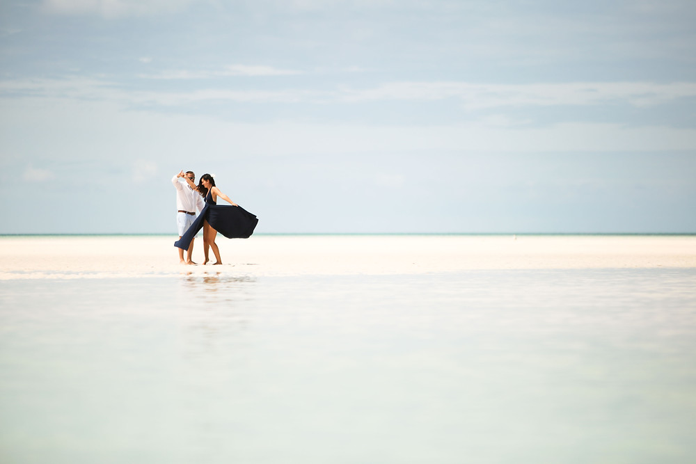 What a stunning place for an engagement shoot...