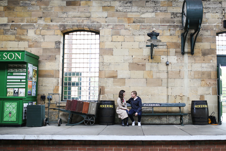 With these two, we went to their venue to take one or two photos