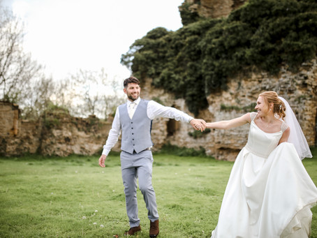 AMBER & ROB | RELAXED BUT LIVELY, YORKSHIRE CASTLE WEDDING, WITH GARDEN GAMES AND MORE.