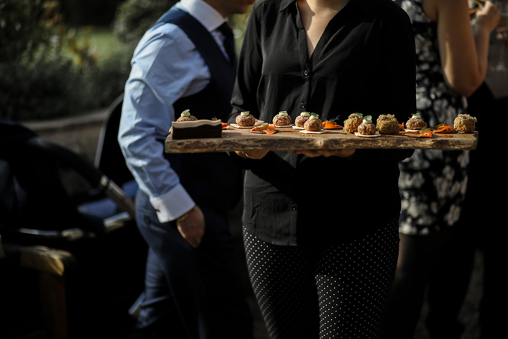 I told you the canapés looked good!
