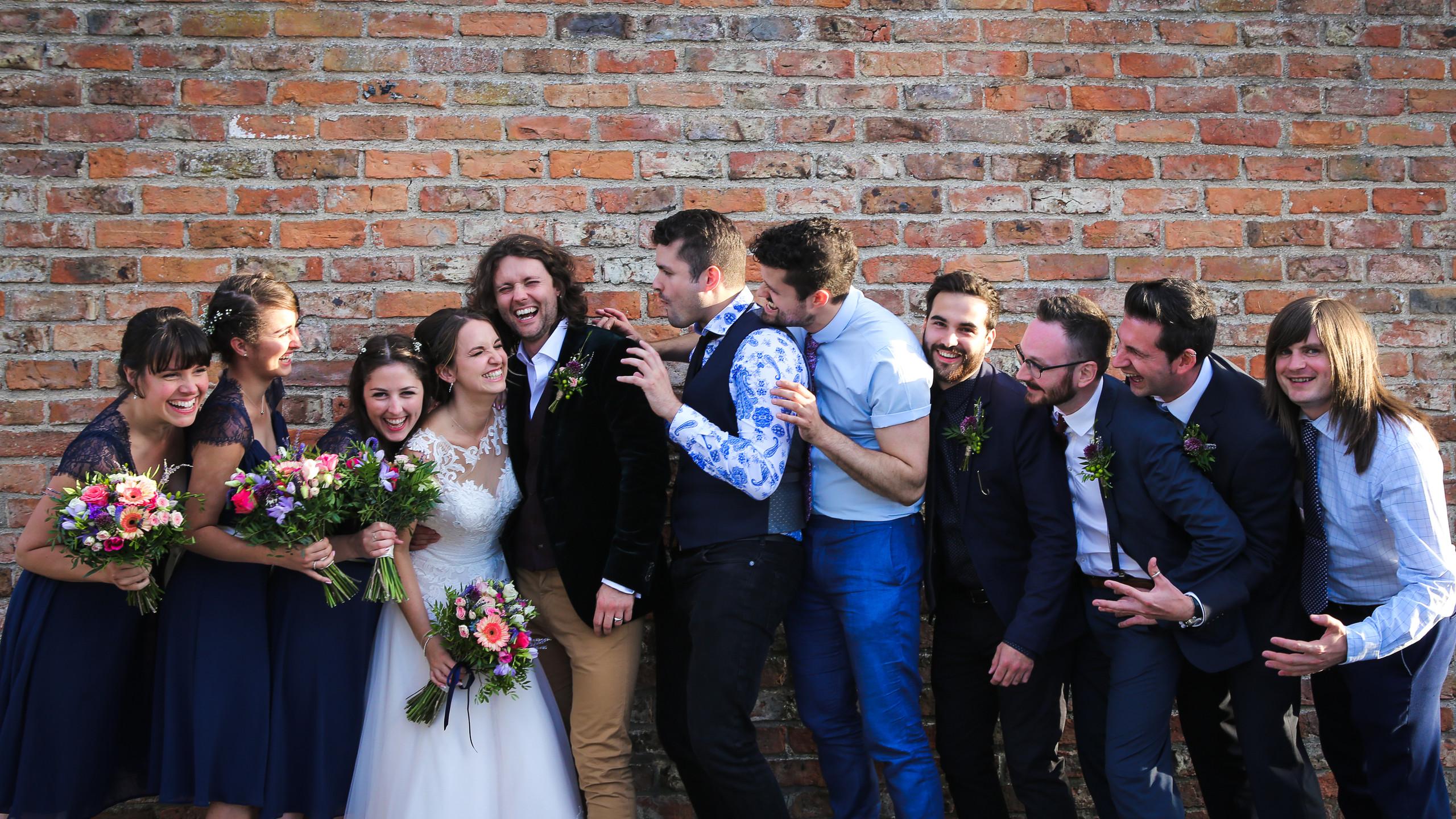 Bridal group shot.