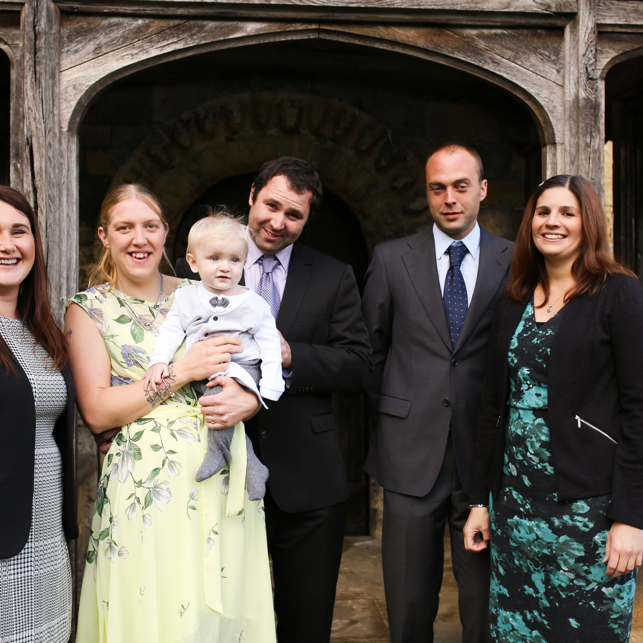 Charlie and his Godparents