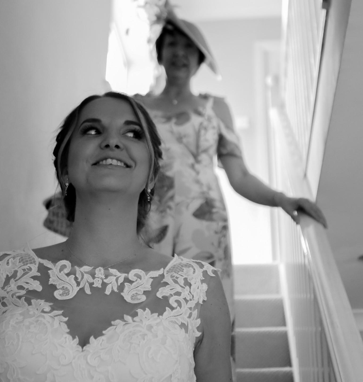 Cheeky bride!