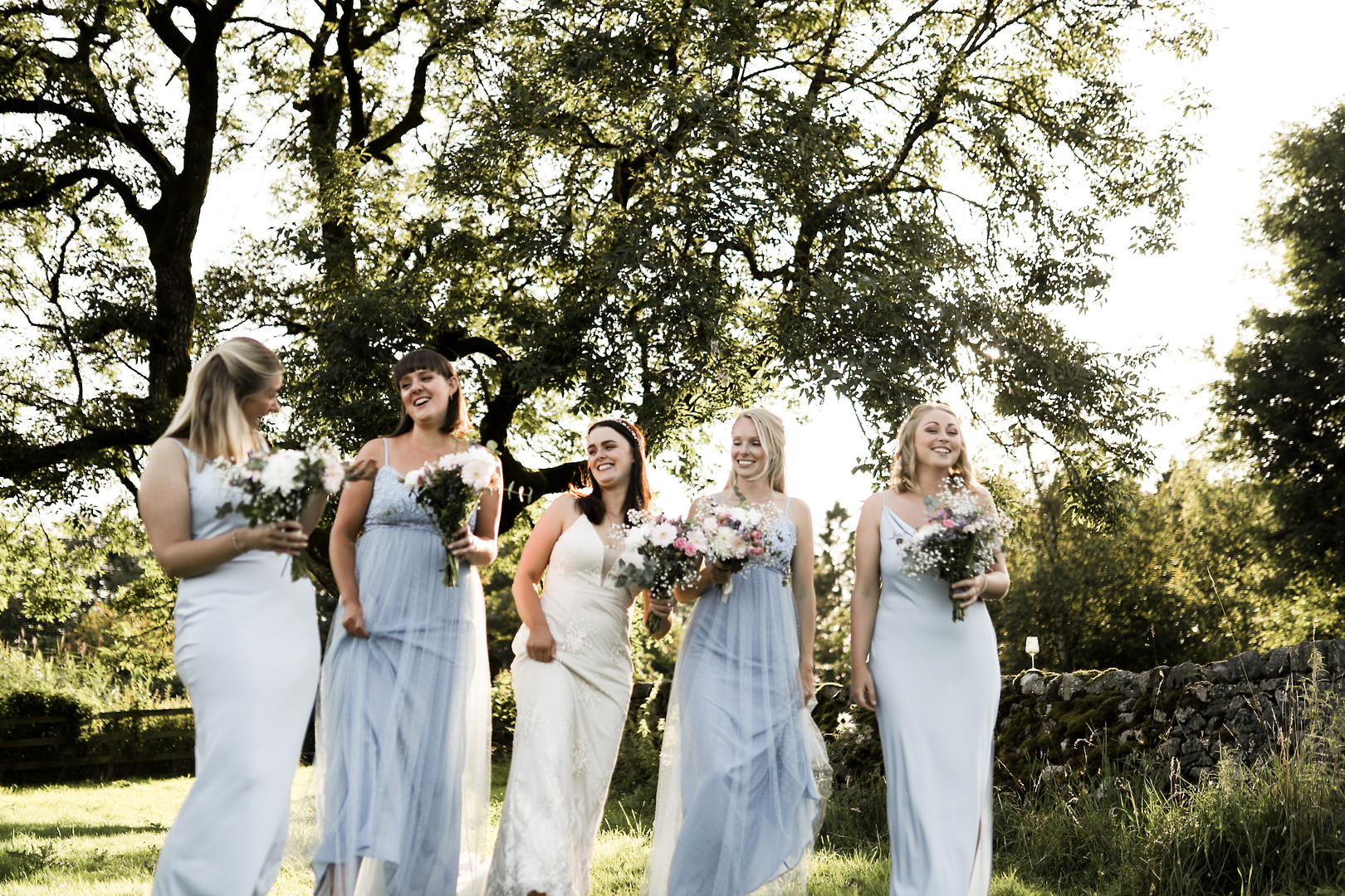 The Bridal Party at Grassington