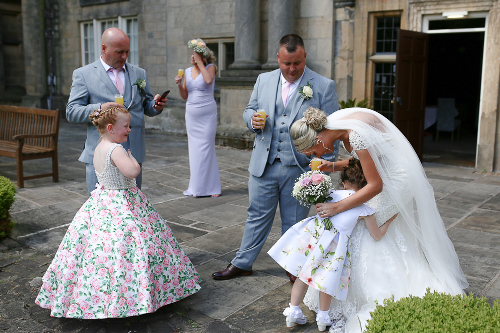 The part the groom enjoyed, chatted and drinking bucks fizz.