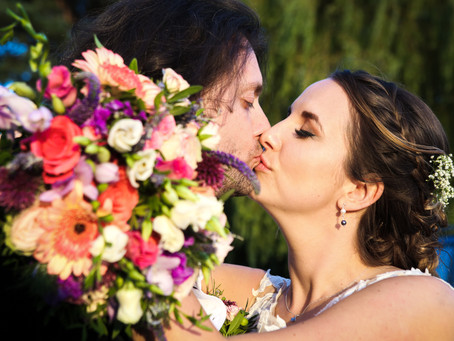 A Happy, Homemade, Town Hall Wedding