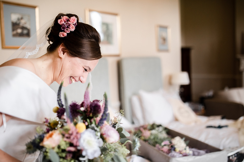 Relaxed and informal wedding photography.