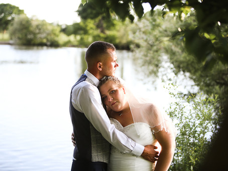 Emily and Matthew's Homemade, Lakeside, Marquee Wedding
