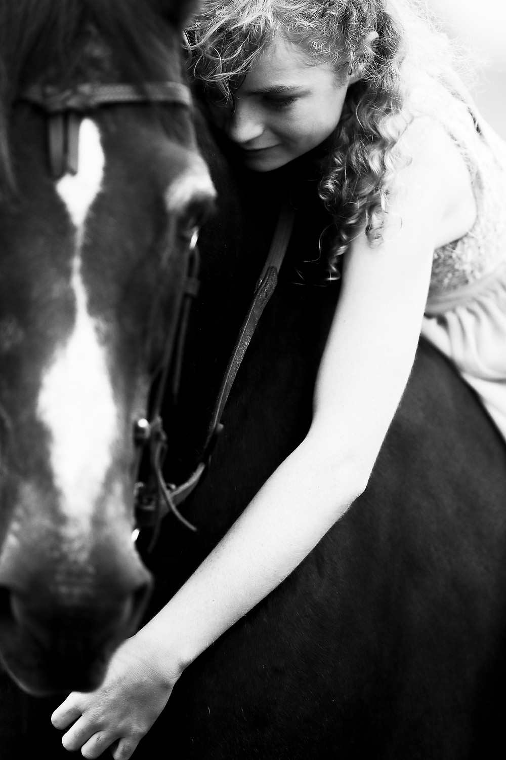 Horse and rider.