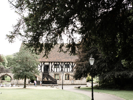 LOUISE & ANDREW'S |  14th CENTURY VENUE TOOK THEIR BREATH AWAY, A HOSPITIUM WEDDING IN YORK