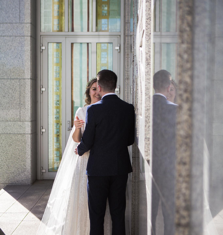 Wedding reflections.