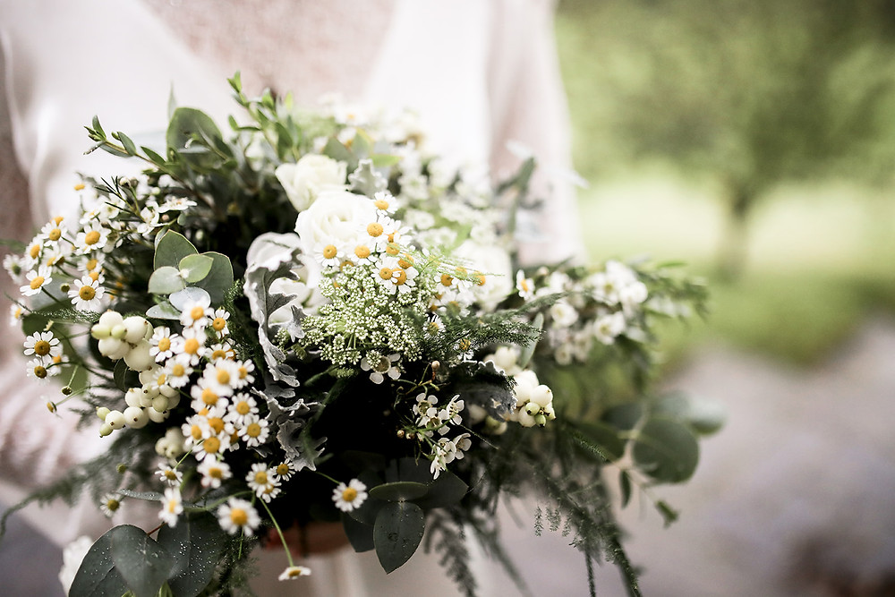 A beautiful bouquet made by Gemma at The Topiary Tree