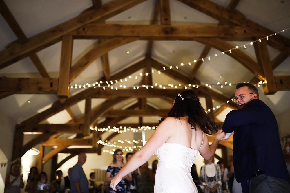 The first dance, Grassington.