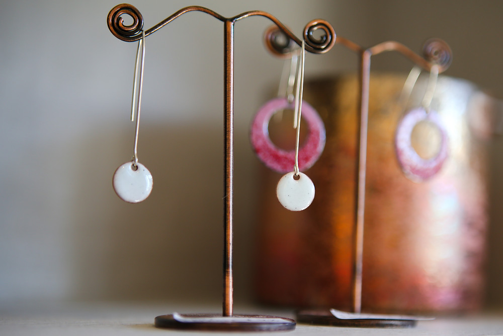 Periwinkle handmade jewellery.