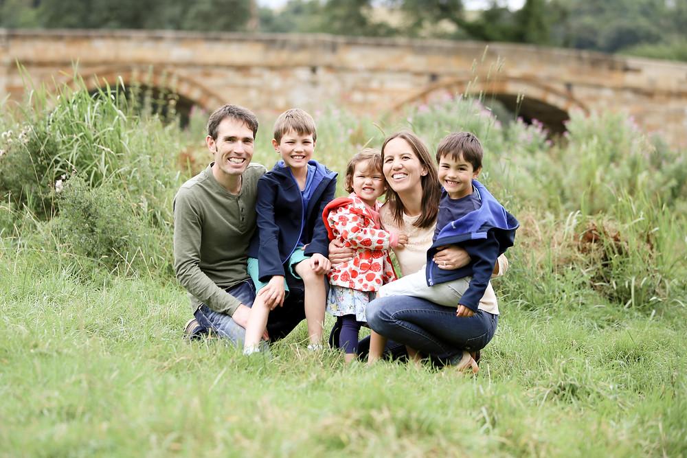 Family session in Kirkham, near York