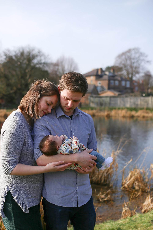 Newborn session in Norton, Malton