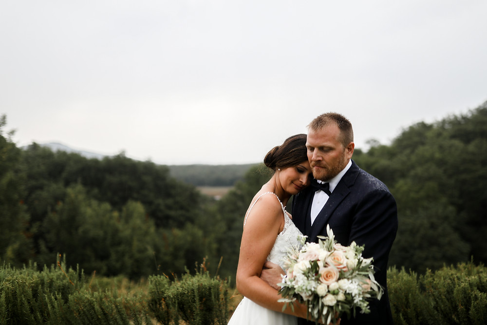 A wet wedding in Italy of all the places!