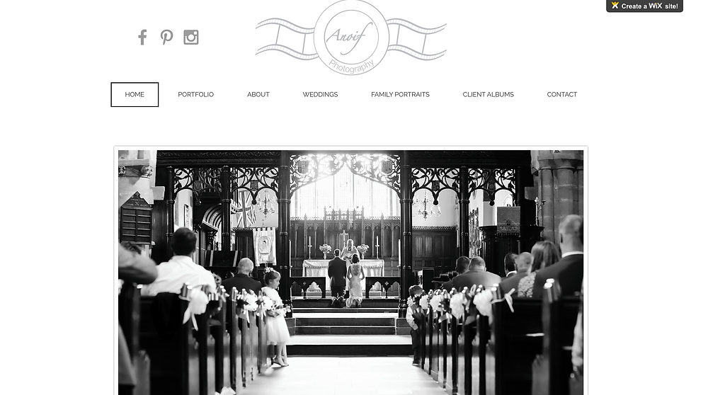 My new website | Anoif Photography