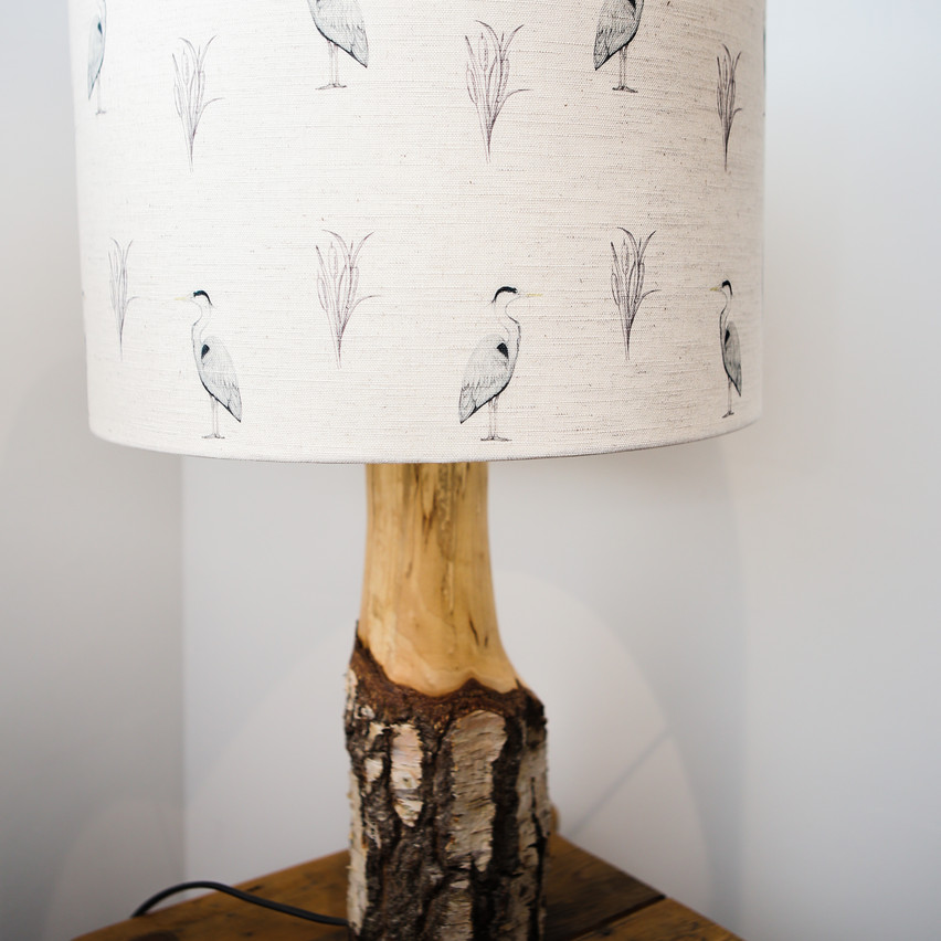 The lampshade.