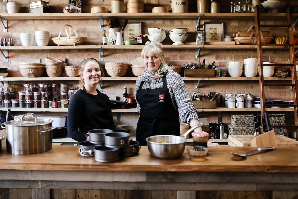 The brains behind Malton's cookery school.