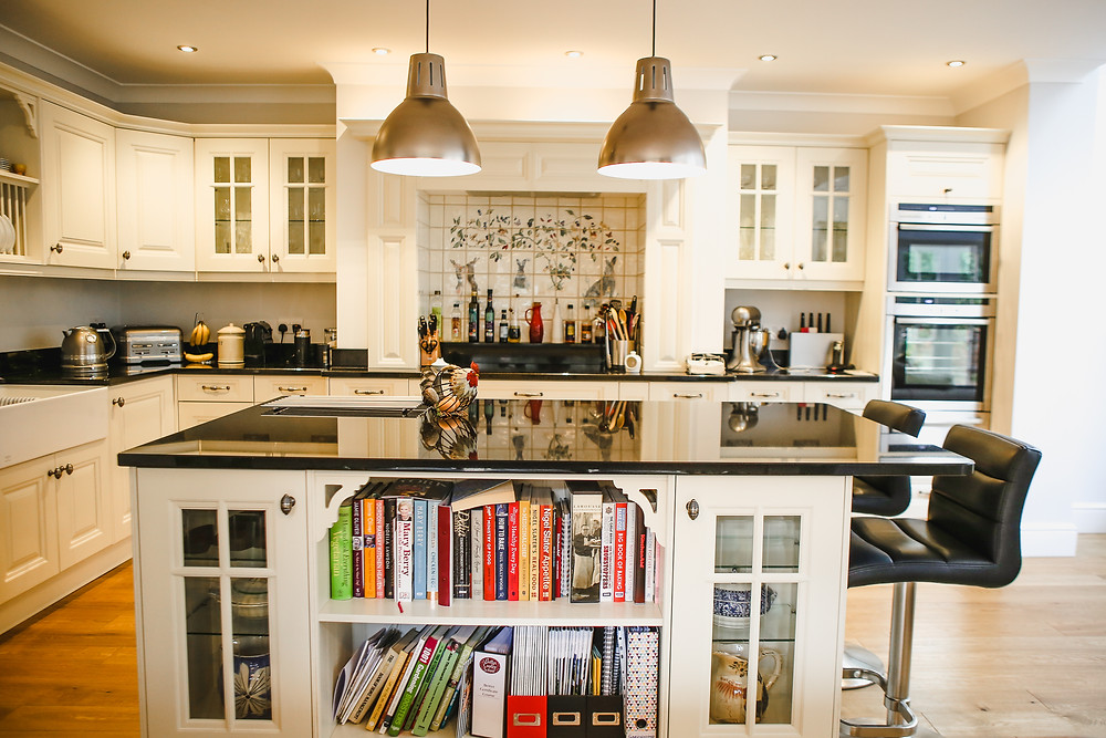 Homely kitchen touched with love.