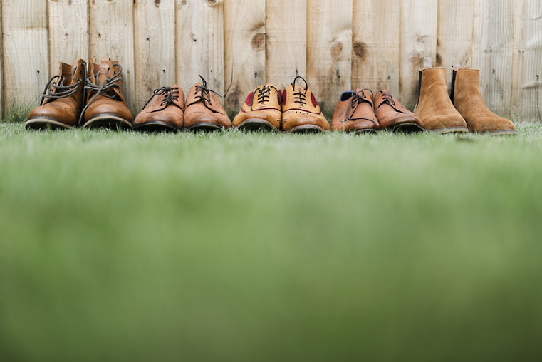 The mens' shoes... taken at Easingwold