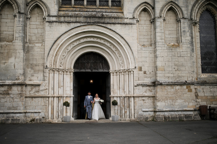 Entering the world as Mr and Mrs