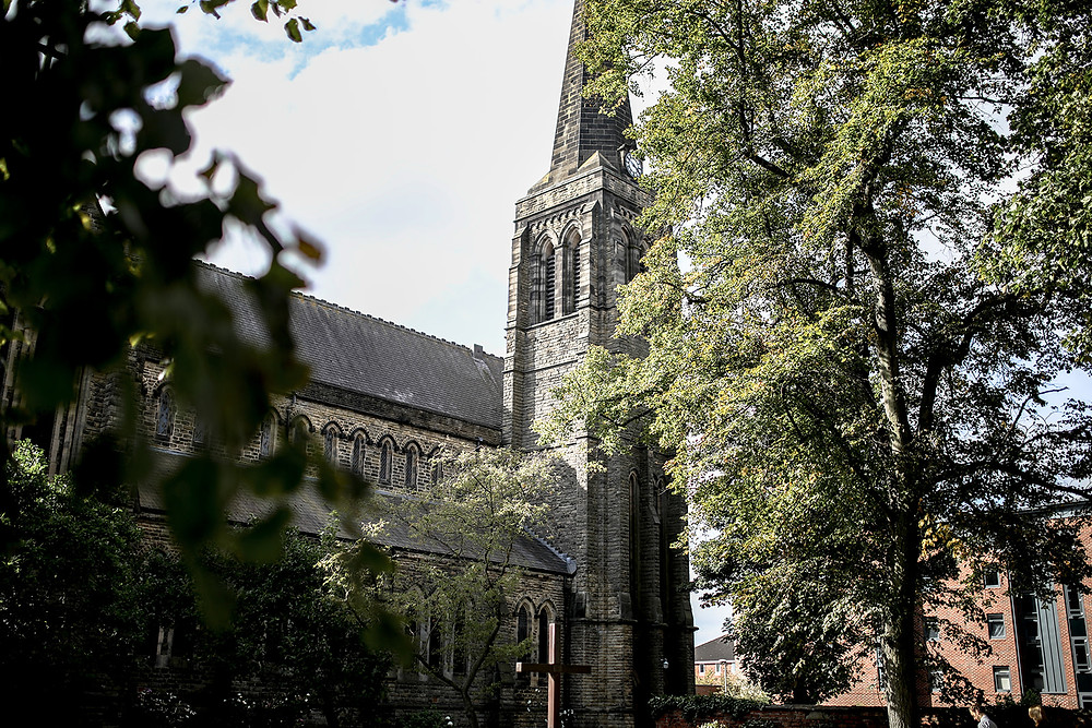 St Lawrence's Church in York centre.