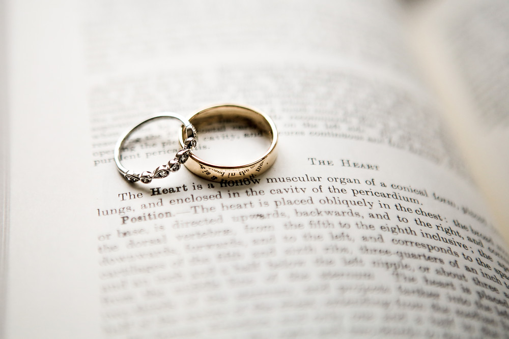 The rings, in the first book he bought her.