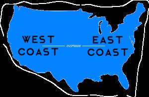 West Coast vs. East Coast: The Workplace War