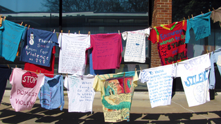 Sexual Assault Awareness Month: The Clothesline Project