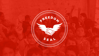 """Companies Adopt """"Freedom Seal"""" to Show Support Against Human Trafficking"""