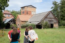 Visite du moulin de Gunderhoffen, septembre 2020