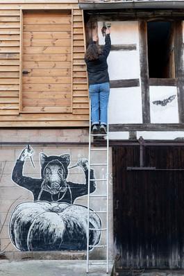 Atelier street-art, mars 2021