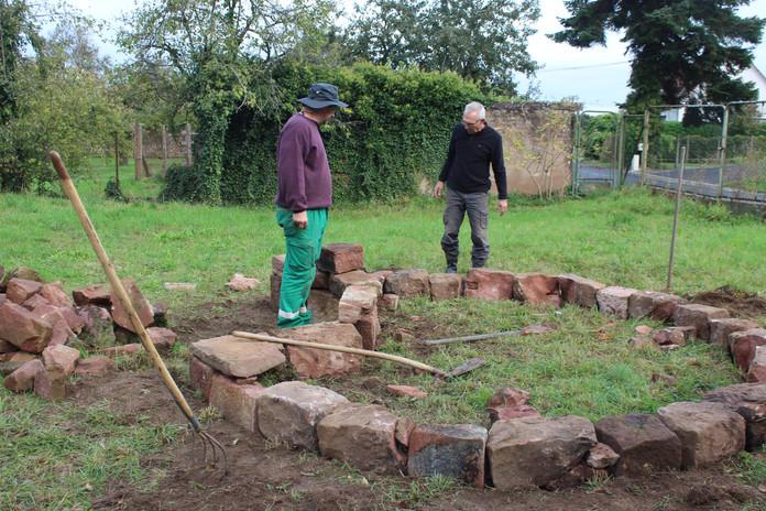 Le key hole garden